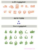 Kindergarten Worksheets Tamil